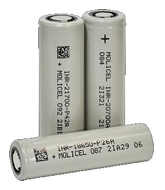 Molicel battery cells